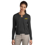 EMAP Accredited Charcoal Heather Crewneck Cardigan Sweater