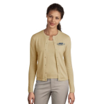EMAP Accredited Camel Crewneck Cardigan