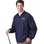 EMAP Accredited Navy Fairway V-Neck Windshirt