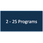 2 - 25 Program Subscriptions