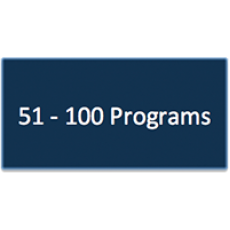 51 - 100 Program Subscriptions